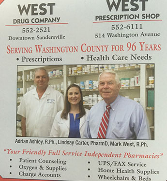 West Drug Company / West Prescription Shop Team